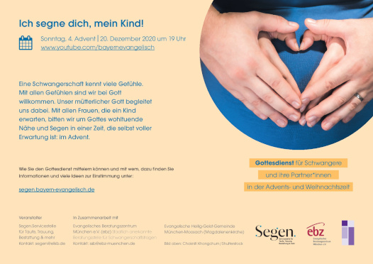 Segnungsgottesdienst für Schwangere
